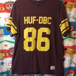 HUF Football Style Numbered Tee